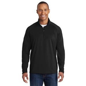 Sport-Tek® Men's Sport-Wick® Stretch 1/2-Zip Pullover Sweatshirt